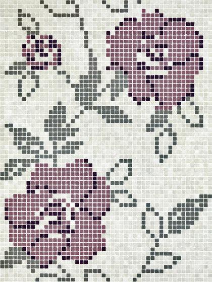 Vetro Decori Brocades 05B by Casamood by Florim   Glass mosaics