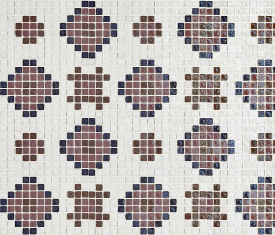 Vetro Pattern 04A di Casamood by Florim | Mosaici