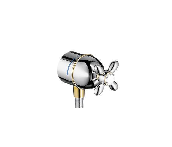 AXOR Carlton Fixfit Stop shut-off valve with cross handle DN15 by AXOR