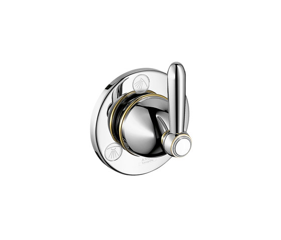 AXOR Carlton Trio|Quattro shut-off and diverter valve for concealed installation with lever handle DN20 by AXOR | Shower controls