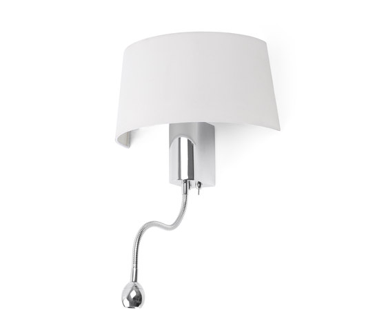 Hotel wall lamp with reader di Faro | Illuminazione generale