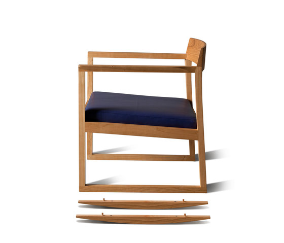 Poltrona Dondolo Burton by Morelato | Rocking chairs / armchairs