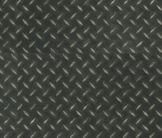 Expona Design - Black Treadplate Effect by objectflor | Plastic flooring