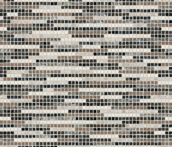 Vetro Stripes 04B by Casamood by Florim | Glass mosaics