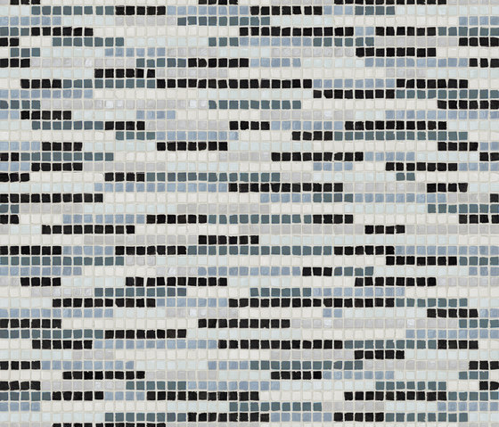 Vetro Stripes 04C by Casamood by Florim | Glass mosaics