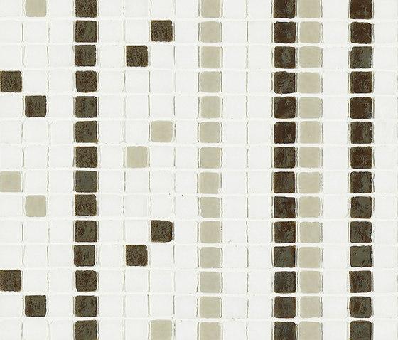 Vetro Stripes 06A von Casamood by Florim | Glas Mosaike