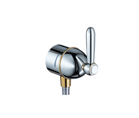 AXOR Carlton Fixfit Stop shut-off valve with lever handle DN15 by AXOR