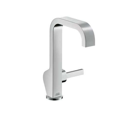 AXOR Citterio Single Lever Basin Mixer with high spout without waste set DN15 by AXOR | Wash basin taps