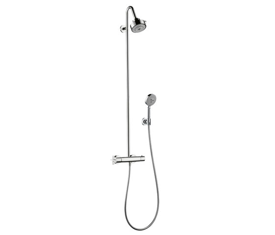 AXOR Citterio Showerpipe with thermostat DN15 by AXOR | Shower controls