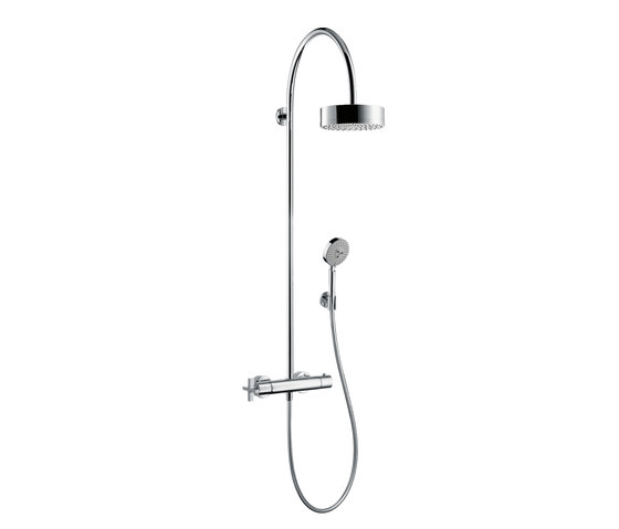 AXOR Citterio Showerpipe with thermostat DN15 by AXOR | Shower taps / mixers