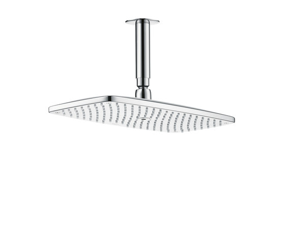 AXOR Citterio M Raindance E 360 Air 1jet overhead shower DN15 with 100mm ceiling connector by AXOR | Shower taps / mixers