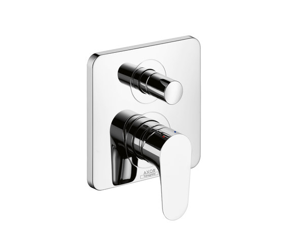 AXOR Citterio M Single Lever Bath Mixer for concealed installation with integrated safety combination according to EN 1717 by AXOR | Bath taps