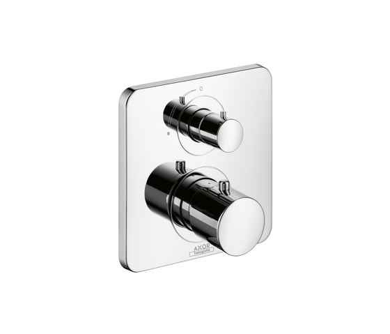 AXOR Citterio M Thermostatic Mixer for concealed installation with shut-off valve by AXOR | Shower taps / mixers