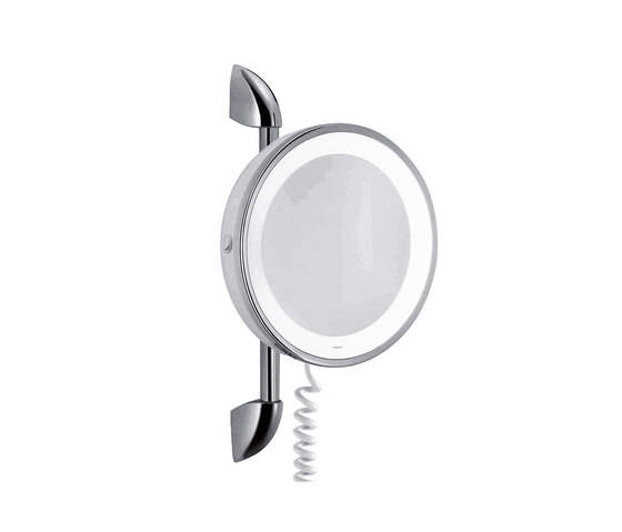 Hansgrohe Comtess de Luxe, Shaving and Cosmetic Mirror by Hansgrohe | Wall mirrors