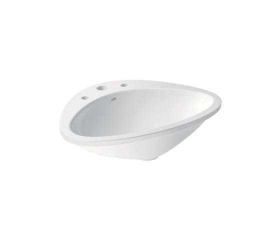 AXOR Massaud Built-in Wash Basin 3-Boreholings by AXOR | Wash basins