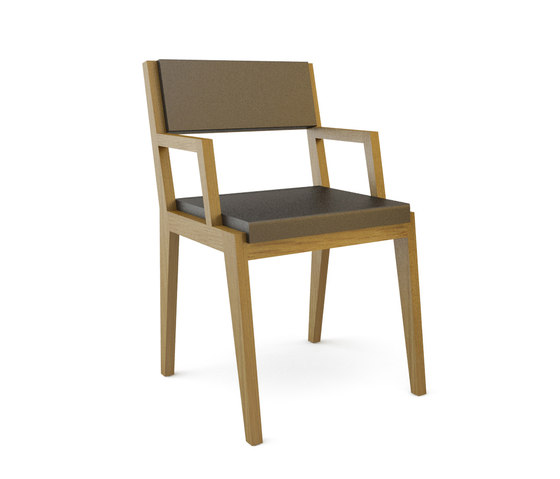 Room 26 Chair 04 armrests by Quinze & Milan | Visitors chairs / Side chairs
