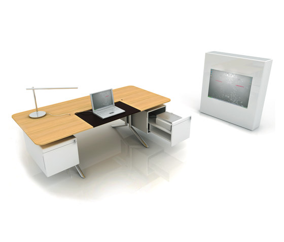 Audience Executive desk by Haworth | AV tables