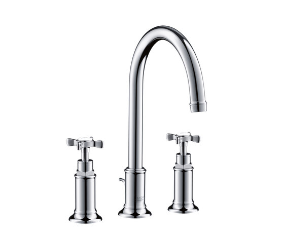 AXOR Montreux 3-Hole Basin Mixer DN15 by AXOR | Wash basin taps