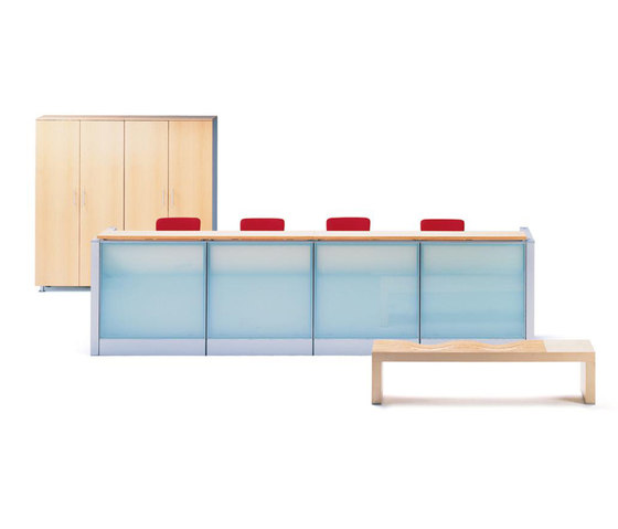 Varto Reception Desk by Nurus | Reception desks