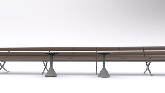 Bench B by BD Barcelona | Beam / traverse seating