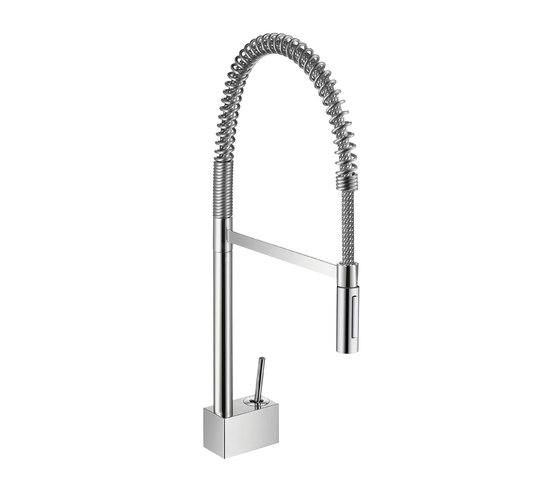 AXOR Starck Semi-Pro Single Lever Kitchen Mixer DN15 by AXOR | Kitchen taps