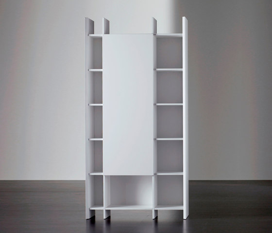Harris Bookcase by Meridiani | Office shelving systems