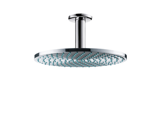 AXOR Starck Raindance Air Plate Overhead Shower Ø240mm DN15 with ceiling connector 100mm by AXOR | Shower taps / mixers