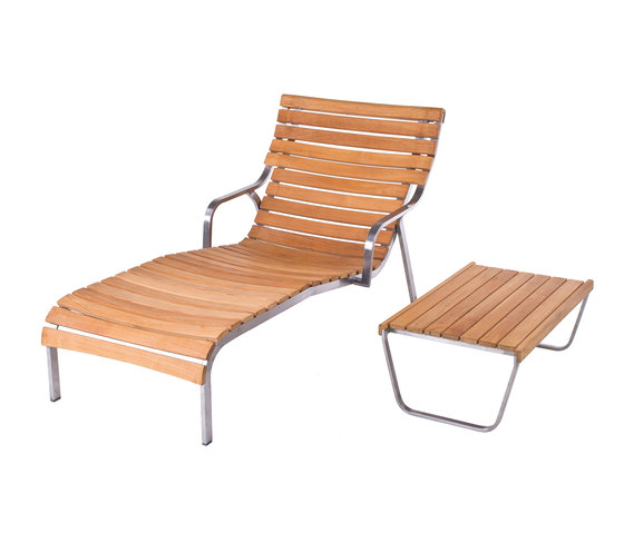 Equinox Chaise longue by Unopiù | Sun loungers