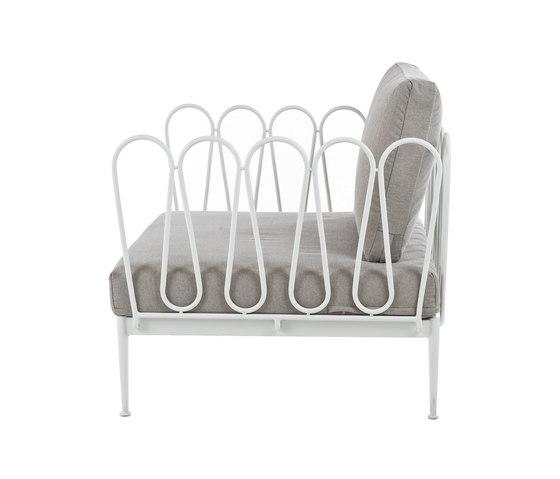 Fleurs Armchair by Unopiù | Garden armchairs