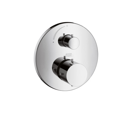 AXOR Starck Thermostatic Mixer for concealed installation with shut-off valve by AXOR | Shower taps / mixers
