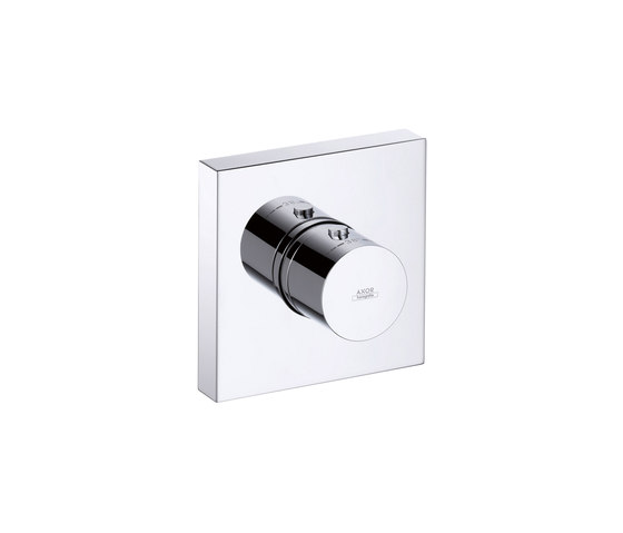 AXOR Starck Finish Set Thermostat Modul 12 x 12 DN20 by AXOR | Shower taps / mixers