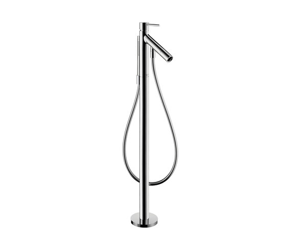 AXOR Starck Free-standing Single Lever Bath Mixer DN15 by AXOR | Bath taps