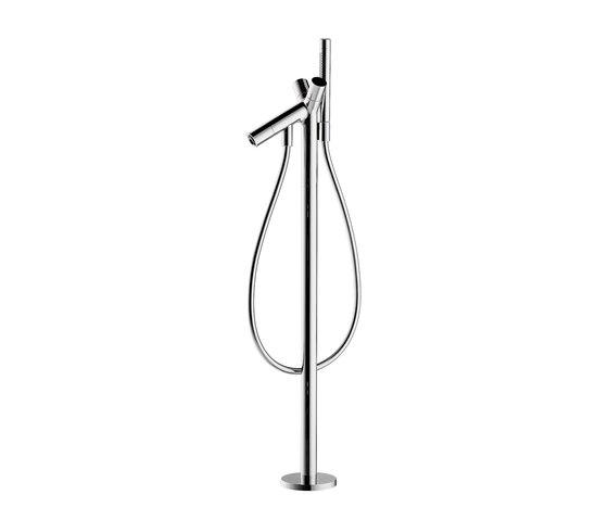 AXOR Starck Mezclador bimando de bañera de pie de AXOR | Grifería para bañeras