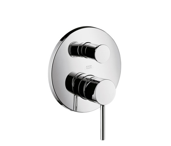 AXOR Starck Single Lever Bath Mixer for concealed installation with integrated security combination according to EN1717 de AXOR | Grifería para duchas