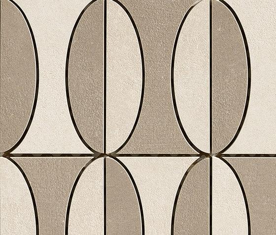 Industrial Decoro B - Taupe|Ivory de Floor Gres by Florim | Mosaïques