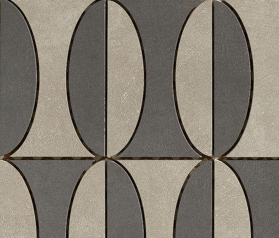 Industrial Decoro B - Sage|Plomb di Floor Gres by Florim | Mosaici
