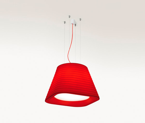 Brigit susp roja e2 by ARKOSLIGHT | General lighting