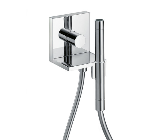 AXOR Starck Hand Shower Module Finish Set 12 x 12 DN15 by AXOR | Shower taps / mixers