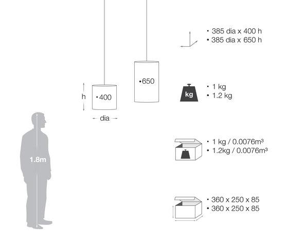 Ulu Tall Natural by David Trubridge | General lighting