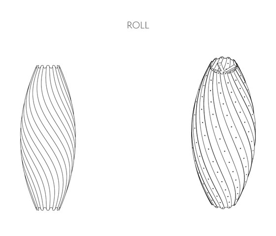 Ebb Roll by David Trubridge | General lighting