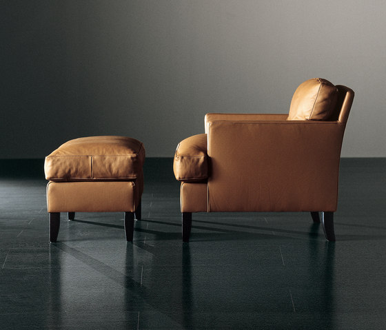 Gaben Armchair with Ottoman by Meridiani | Armchairs