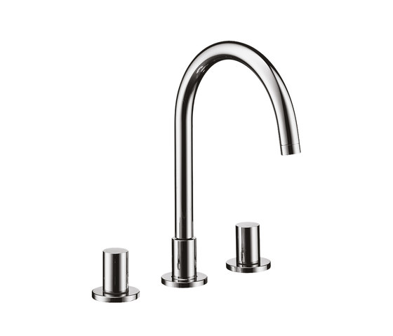 AXOR Starck 3-Hole Basin Mixer DN15 by AXOR | Wash-basin taps