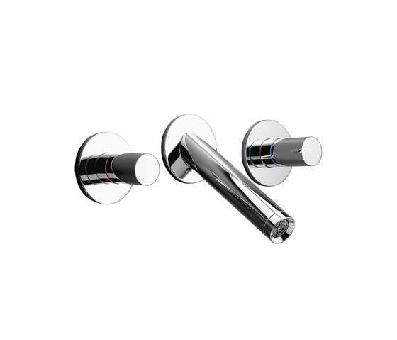 AXOR Starck 3-Hole Basin Mixer for concealed installation DN15 by AXOR | Wash-basin taps