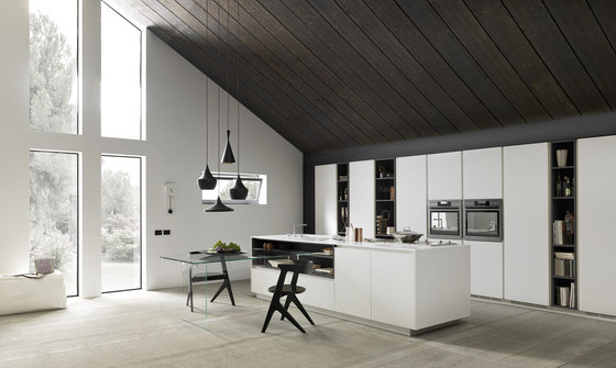 K_Goccia Vetro by Meson's Cucine | Fitted kitchens