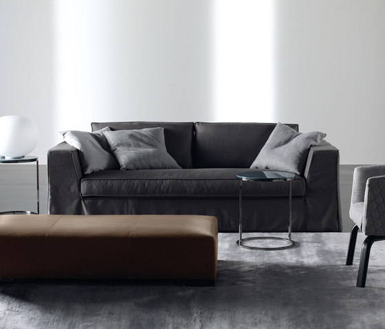 Guinn Due Sofa by Meridiani | Lounge sofas