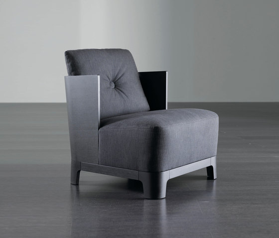 Keeton Armchair WOOD by Meridiani | Armchairs