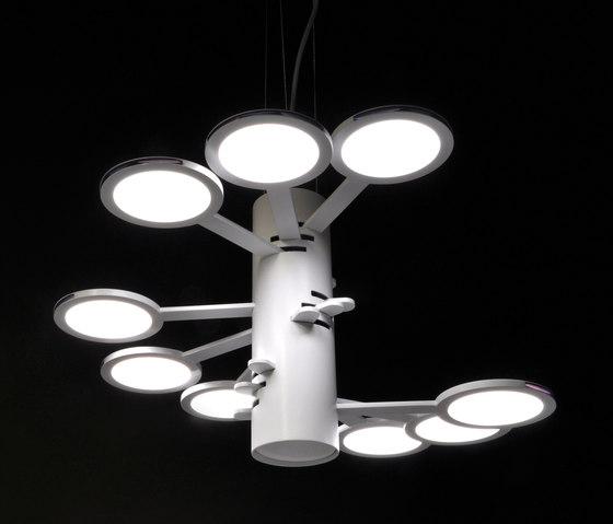 3x3 MACH 9  S – OLED-pendant by Bernd Unrecht lights | General lighting
