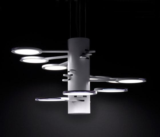 3x3 MACH 9  S – OLED-pendant de Bernd Unrecht lights | Éclairage général