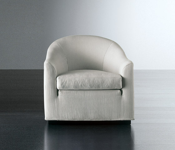 Lenny Fit 75 Armchair by Meridiani | Lounge chairs