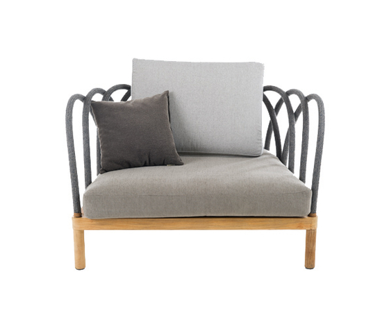 Les Arcs Armchair by Unopiù | Garden armchairs